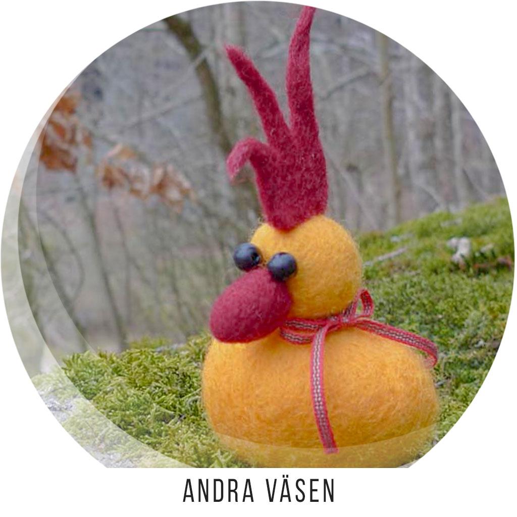 Andra Väsen - Påskkycklingar, Häxor, Troll mm