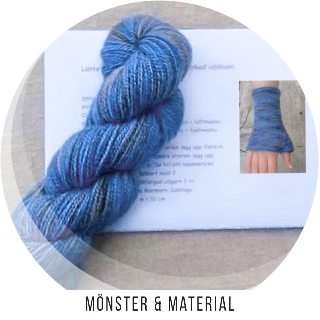 Mönster, Material och Materialsatser